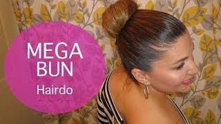 Mega Bun Hairdo Thumbnail