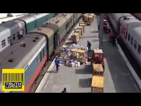 Russian post men having a bad day - Truthloader