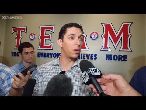 Rangers GM Jon Daniels discusses Josh Hamilton's release
