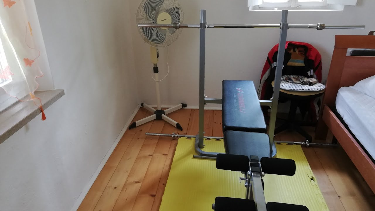 La mia HOME GYM definitiva!!!