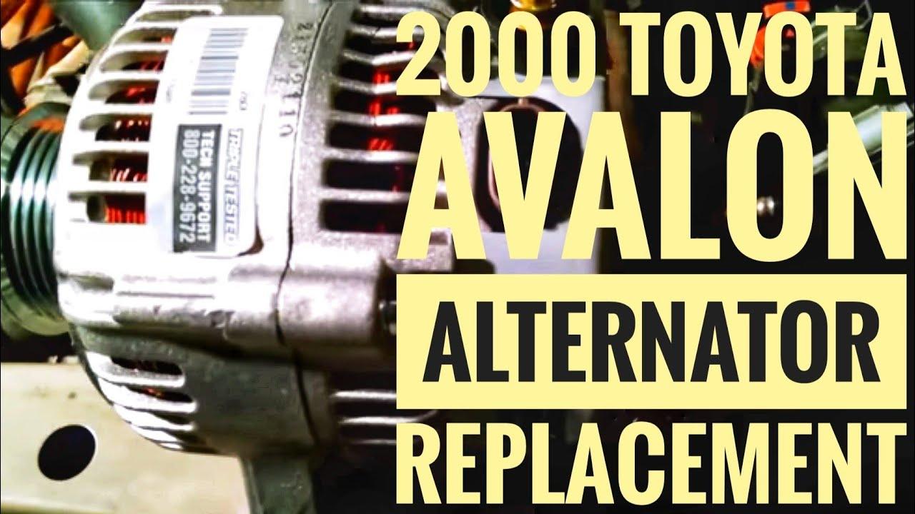 1999 toyota avalon alternator