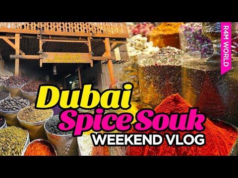 Dubai Spice Souq (Market) | Dubai Market | Dubai Abra | Dubai Vlog | Episode -5|