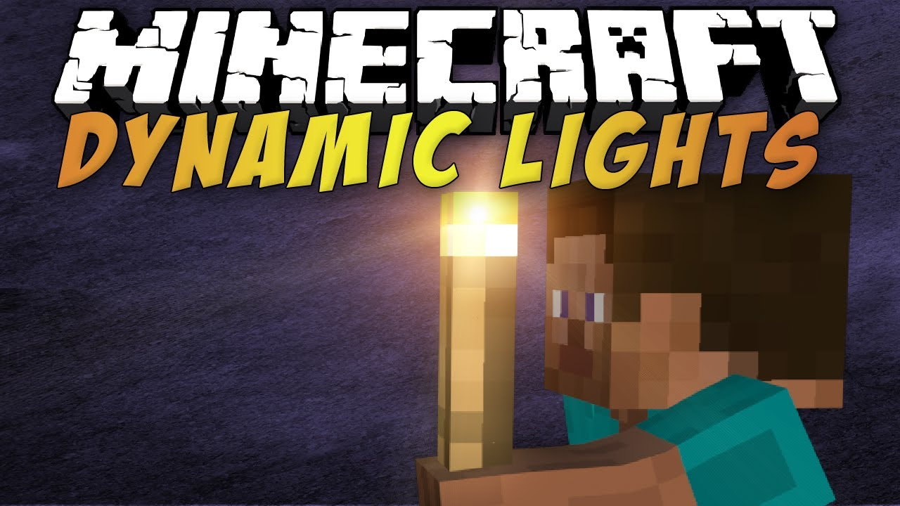 Dynamic Lights Mod 1.8.8, 1.8, 1.7.10, 1.6.4, and 1.5.2