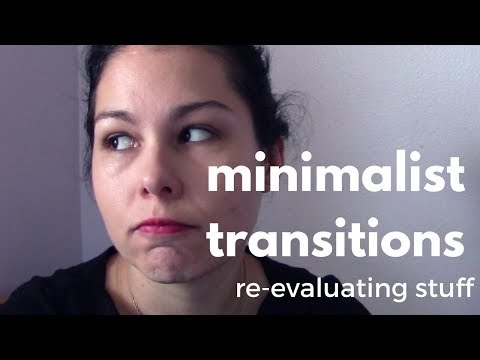 re-evaluating minimalist goals | Minimalist Transitions