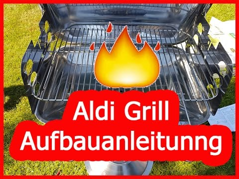 aldi grill aufbauen anleitung edelstahl s ulengrill. Black Bedroom Furniture Sets. Home Design Ideas