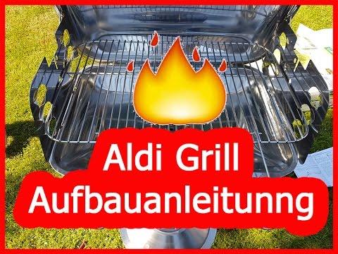 aldi grill aufbauen anleitung edelstahl s ulengrill 2016 garden youtube. Black Bedroom Furniture Sets. Home Design Ideas
