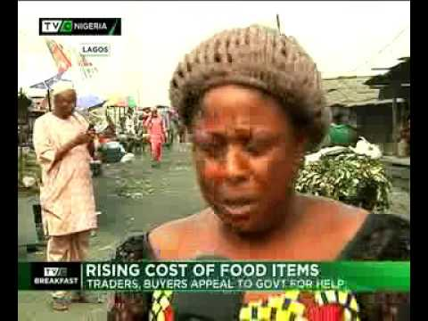 Rising cost of food items