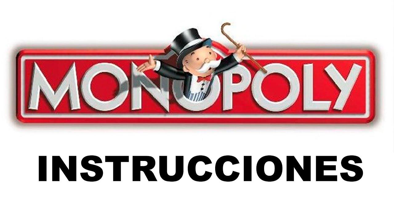 Reglas O Instrucciones Del Monopoly Youtube
