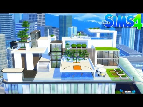The Sims 4 - OUR NEW PENTHOUSE!! SIMS 4 City Living! (Sims 4, Episode 21)