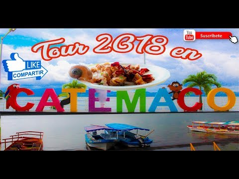 TOUR CATEMACO VERACRUZ PARTE 1°|PASEO EN LANCHA