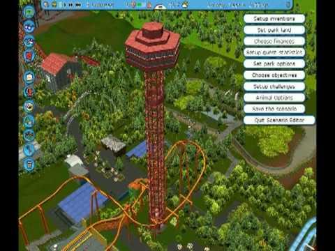 Six Flags Magic MountainRCT3 YouTube