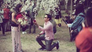 Troven's  Surprisingly Beautiful Wedding Proposal Kyoto Japan 29 March 2016