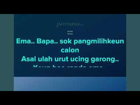 Hayang Kawin - Kun kun | Karaoke Sunda