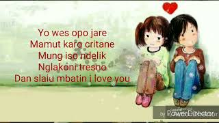 Download lagu Lirik lagu FDJ EMLIY YOUNG Terlanjur Tak Sayang