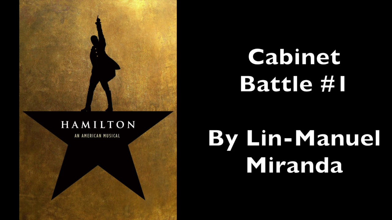 Hamilton | Cabinet Battle #1 [Instrumental/Karaoke with Lyrics ...