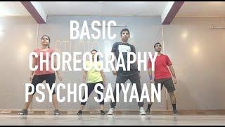 ABSOLUTE BASIC DANCE CHOREOGRAPHY | PRABHAS |PSYCHO SAIYAAN | SHRADDHA KAPOOR | TANISHK BAGCHI | DHV
