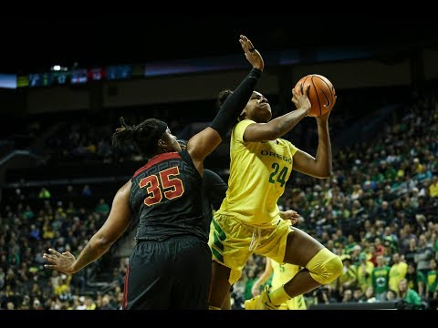 Highlight: Oregon women\'s basketball\'s Ruthy Hebard scores NCAA-record 30 consecutive field goals