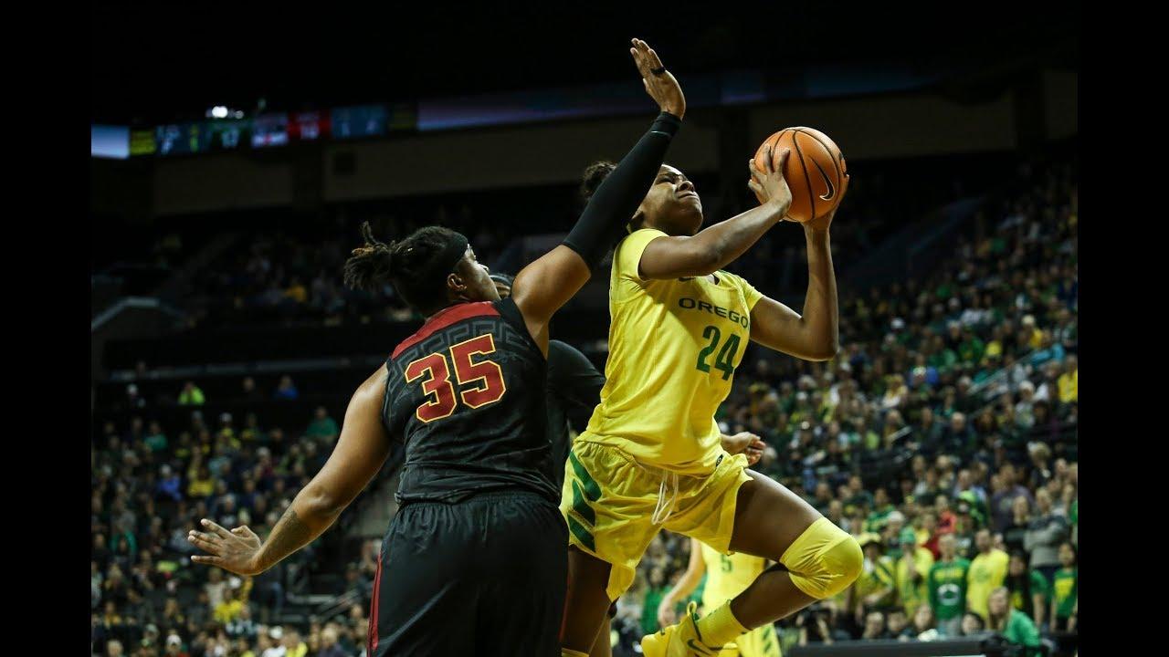 Highlight: Oregon women's basketball's Ruthy Hebard scores ...