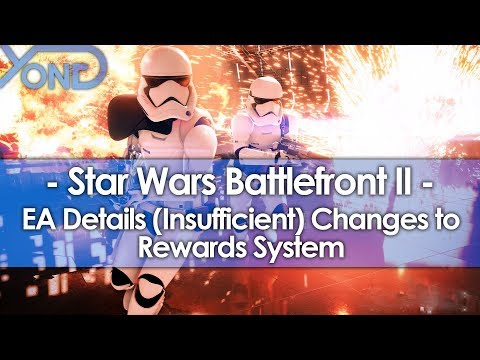 EA Details (Insufficient) Changes to Battlefront 2's Rewards System