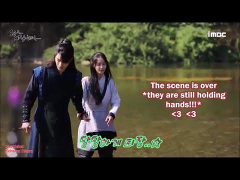 The King Loves Behind The Scenes: Hong Jong Hyun And Yoona (Rin And San)