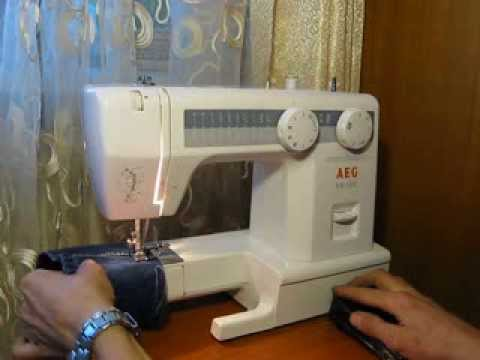 sewing machine aeg nm 1800 test youtube