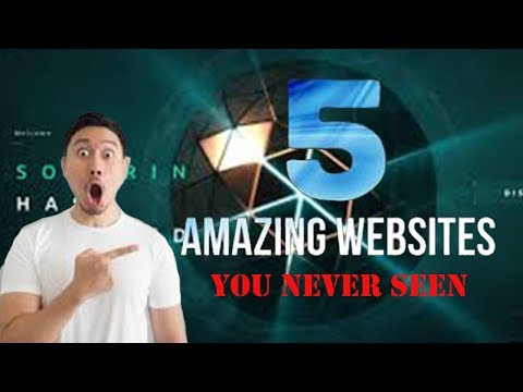 Top 5 Most COOL AMAZING WEBSITES You'll Wish You Knew Earlier! (2020)