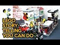 How to Bring Life to Your Custom LEGO City Regardless of the Size