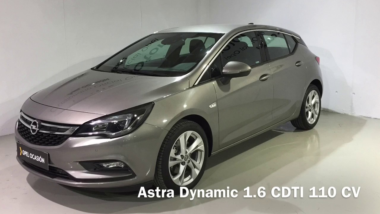 opel astra dynamic 1 6 cdti 110 cv gris granito ocasion youtube. Black Bedroom Furniture Sets. Home Design Ideas