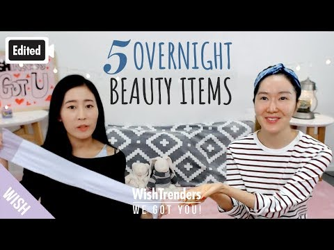 [Edited] 5 Overnight Beauty Items You Should Be Using Before Bed! | All About Sleeping Mask