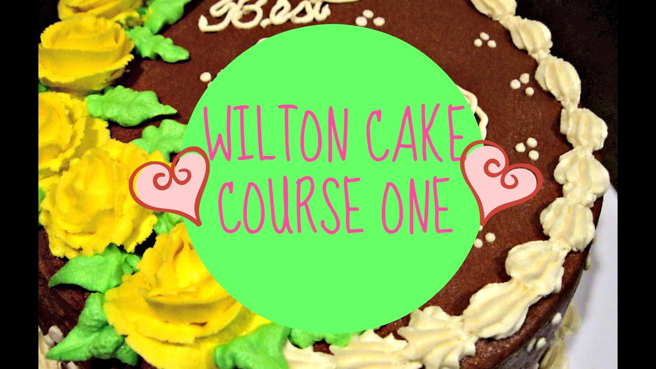 building buttercream skills class 1 wilton cake.htm wilton cake class course 1  decorating basics  youtube  wilton cake class course 1