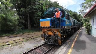 【オーストラリア】 キュランダ高原列車 キュランダ駅での機回し Kuranda Scenic Railway, Kuranda Station (2017.3)