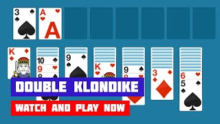 Double Klondike Solitaire · Game · Gameplay