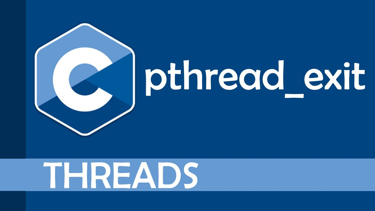 What is pthread_exit?