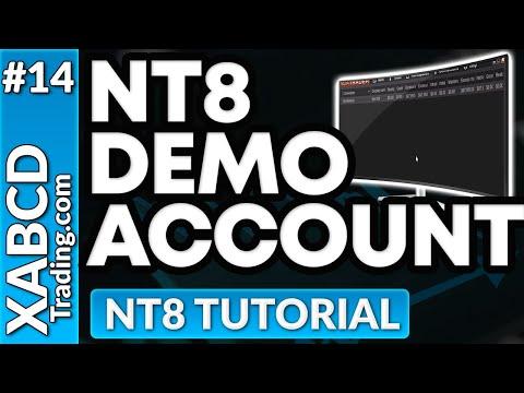 Everything On NinjaTrader 8 Demo Accounts