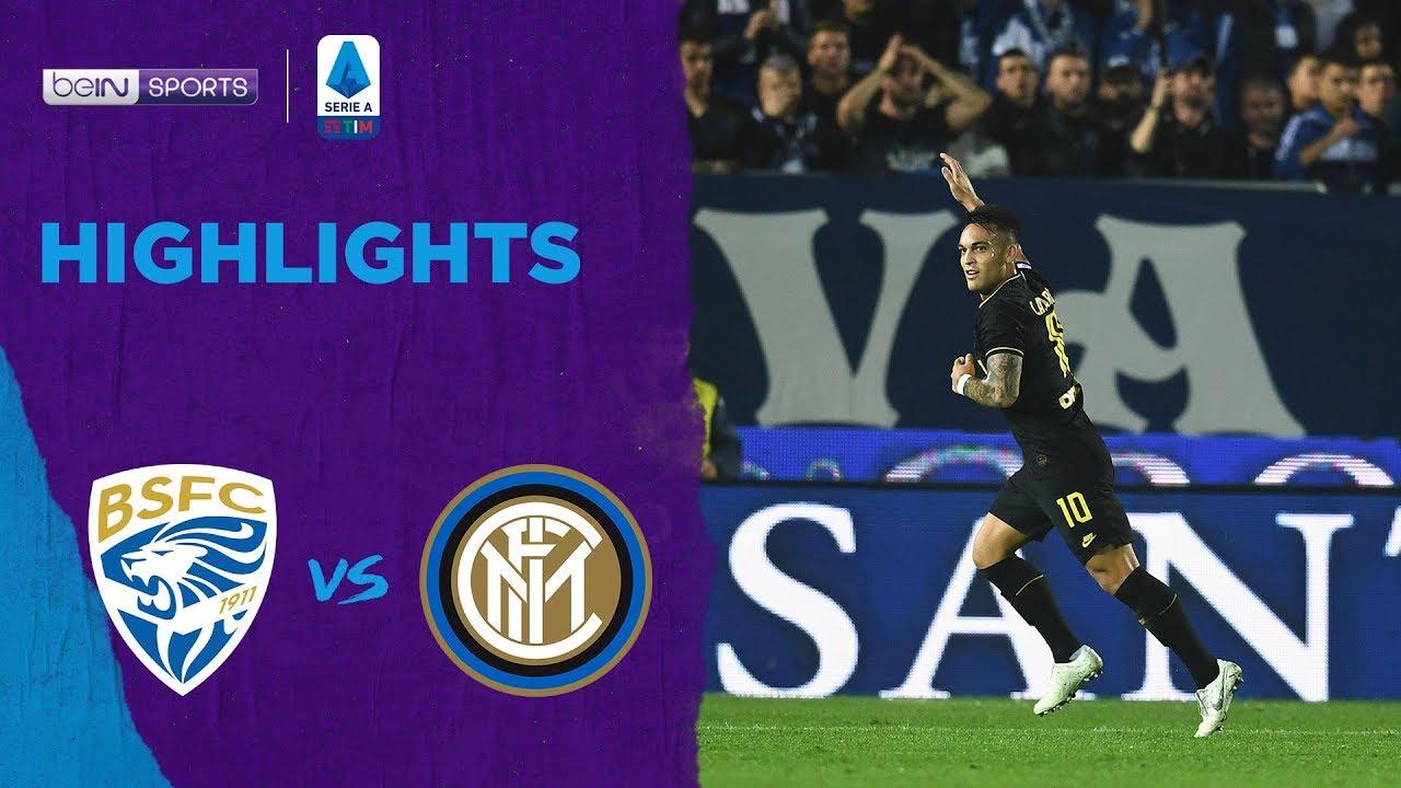 เบรสชา 1-2 อินเตอร์ มิลาน | เซเรีย อา ไฮไลต์ Serie A 19/20