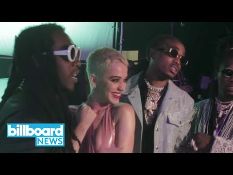 Katy Perry Shares Behind-The-Scenes Look at Making of 'Bon Appétit' Video | Billboard News