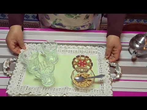 شاي-اخضر-خفيف-بالنعناع-صحى-وبطريقة-سهلة-جدا-جدا---المطبخ-التونسي---tunisian-cuisine-zakia