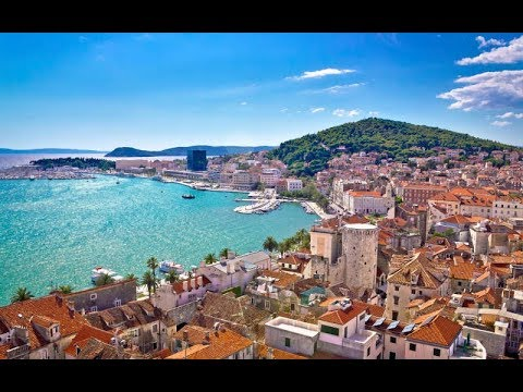 Split Och Podstrana Kroatien Youtube