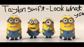 Video Taylor Swift - Look What you Make Me Do (Minions Cover Story) download MP3, 3GP, MP4, WEBM, AVI, FLV April 2018