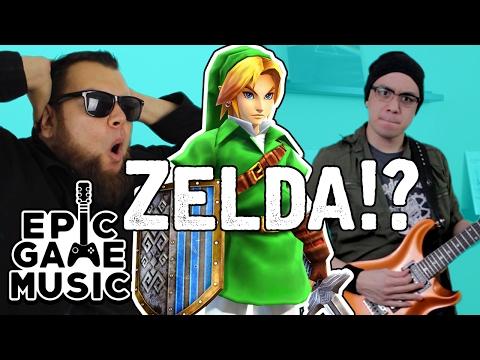 Legend of Zelda Link's Awakening Tal Tal Heights ft. Zurachi (Guitar Remix)    Epic Game Music