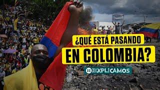¿Qué está pasando en Colombia? Todo sobre las protestas y el origen del conflicto