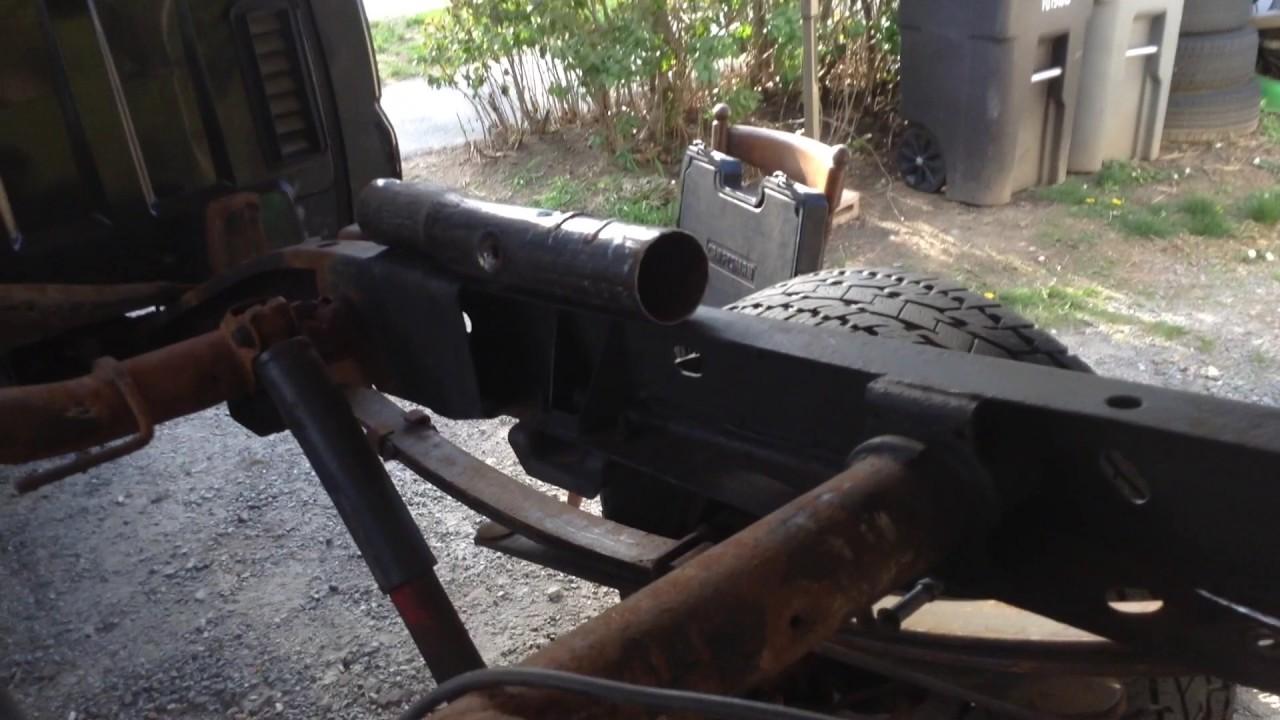 GMC 1500 FRAME REPAIR