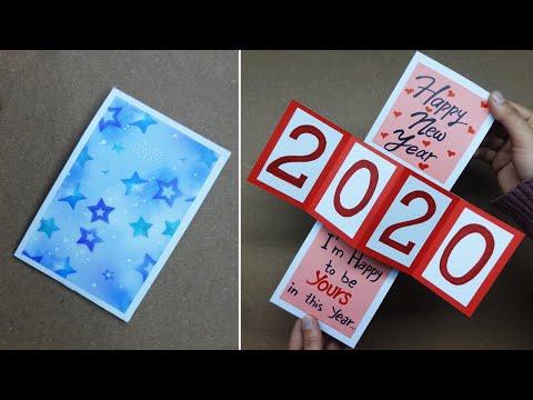Beautiful Handmade Happy New Year 2020 Card Ideas How To