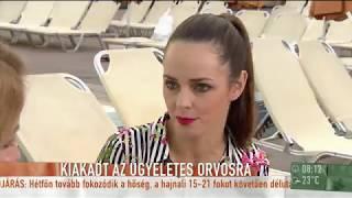 Dobó Ágit felháborította, amit az éjszakai ügyeleten tapasztalt - tv2.hu/mokka