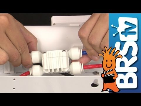 Reverse osmosis membrane hookup
