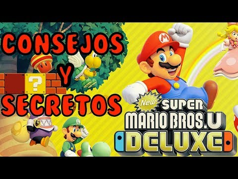 NEW SUPER MARIO BROS U DELUXE | CONSEJOS Y TRUCOS