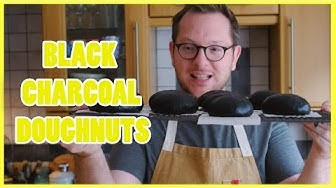 How To Make Black Charcoal Doughnuts - The Boy Who Bakes - ad