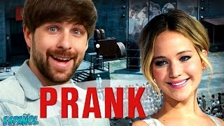 JENNIFER LAWRENCE PRANKS SMOSH EN ESPAÑOL (#PrankItFwd)