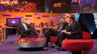 Stephen Merchant's nudity awkwardness in the gym - The Graham Norton Show, preview - BBC One