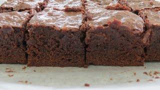 Fudge Brownie Recipe -- The Frugal Chef
